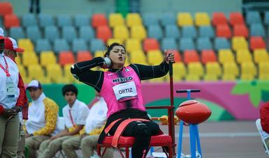 La mexicana logró su cuarta presea dorada en una justa de esta categoría.