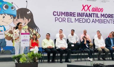 La Semarnat y el Cecadesu en la Cumbre Infantil Morelense por el Medio Ambiente