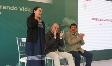 Presentan Sembrando Vida en San Luis Potosí