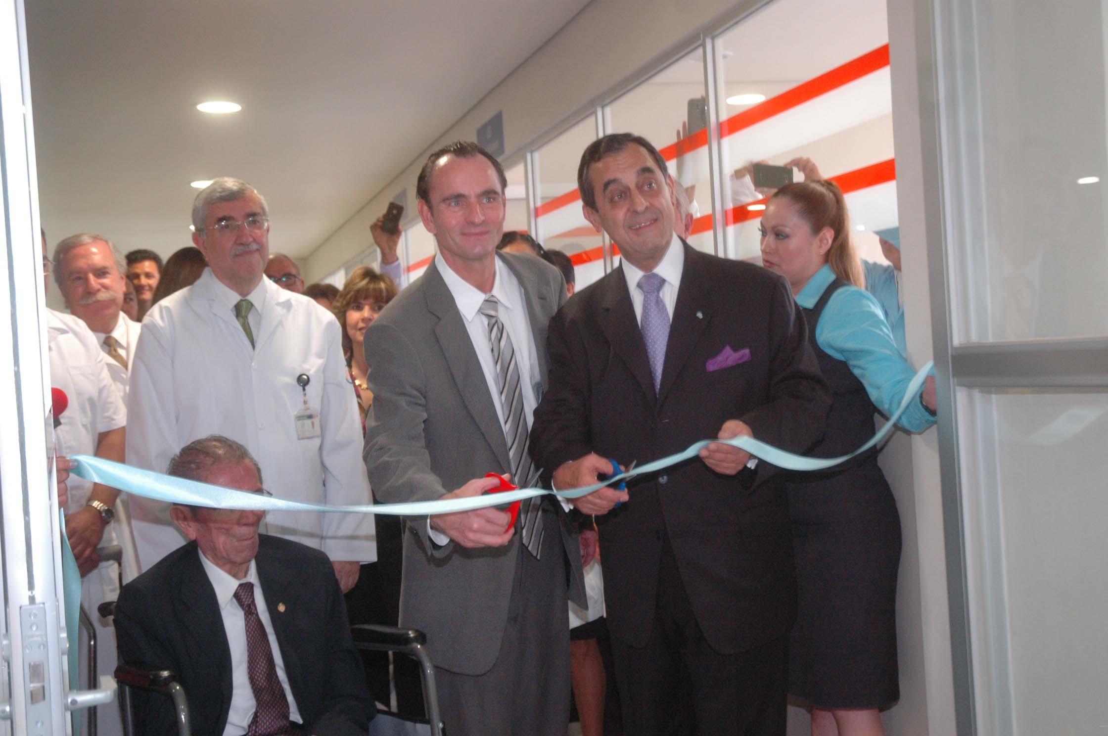 Inauguración de la unidad de enfermedades oncológicas en el Hospital Infantil
