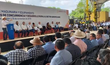 La suma de esfuerzos se reflejará en la calidad de vida de los productores