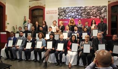 El Instituto entregó premios y becas como reconocimiento a los trabajos que abonan a la promoción, investigación, reflexión y difusión, desde una visión plural e incluyente