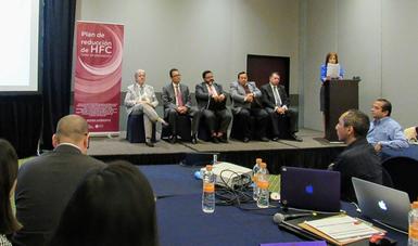 México trabaja para lograr la reducción del consumo de los HFC (hidrofluorocarbonos) en un 80 % para el año 2045.