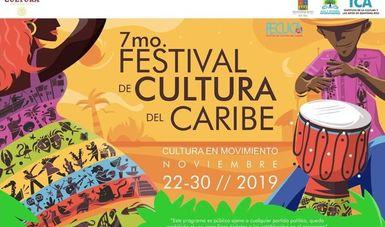 El Séptimo Festival de Cultura del Caribe (FECUCA) comienza hoy en Quintana Roo y durará hasta el 30 de noviembre.