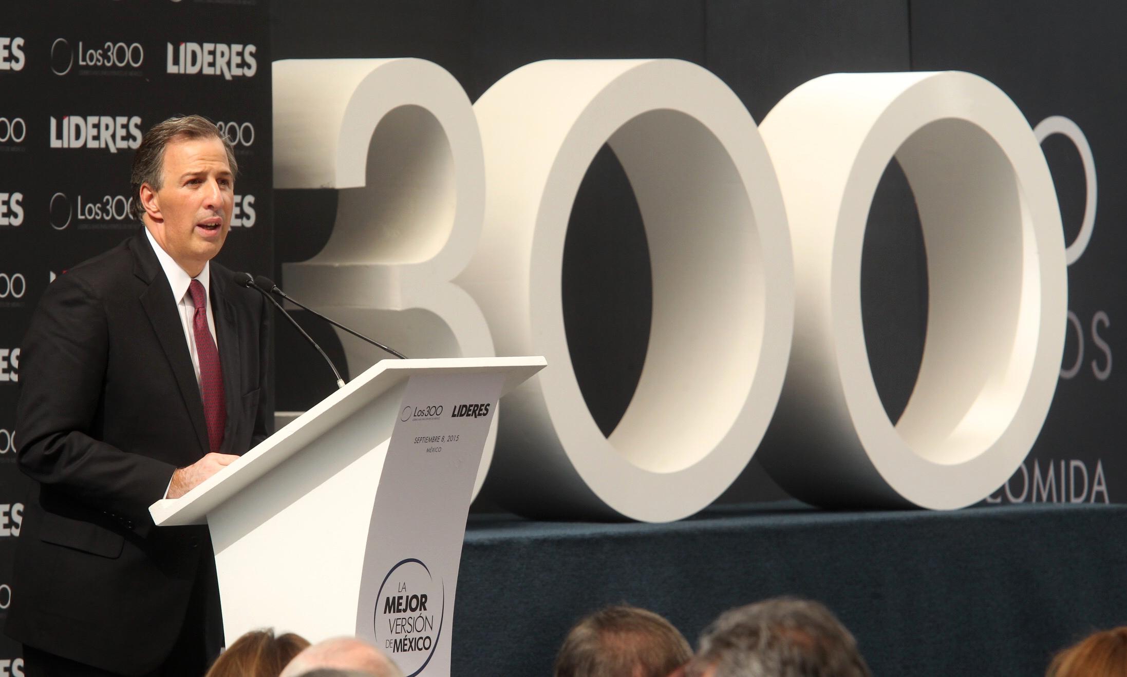 Comida anual de los 300 líderes más influyentes de México