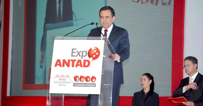 Inaugura el Secretario Ildefonso Guajardo la EXPO ANTAD 2014
