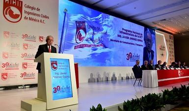 30 Congreso Nacional de Ingeniería Civil Infraestructura