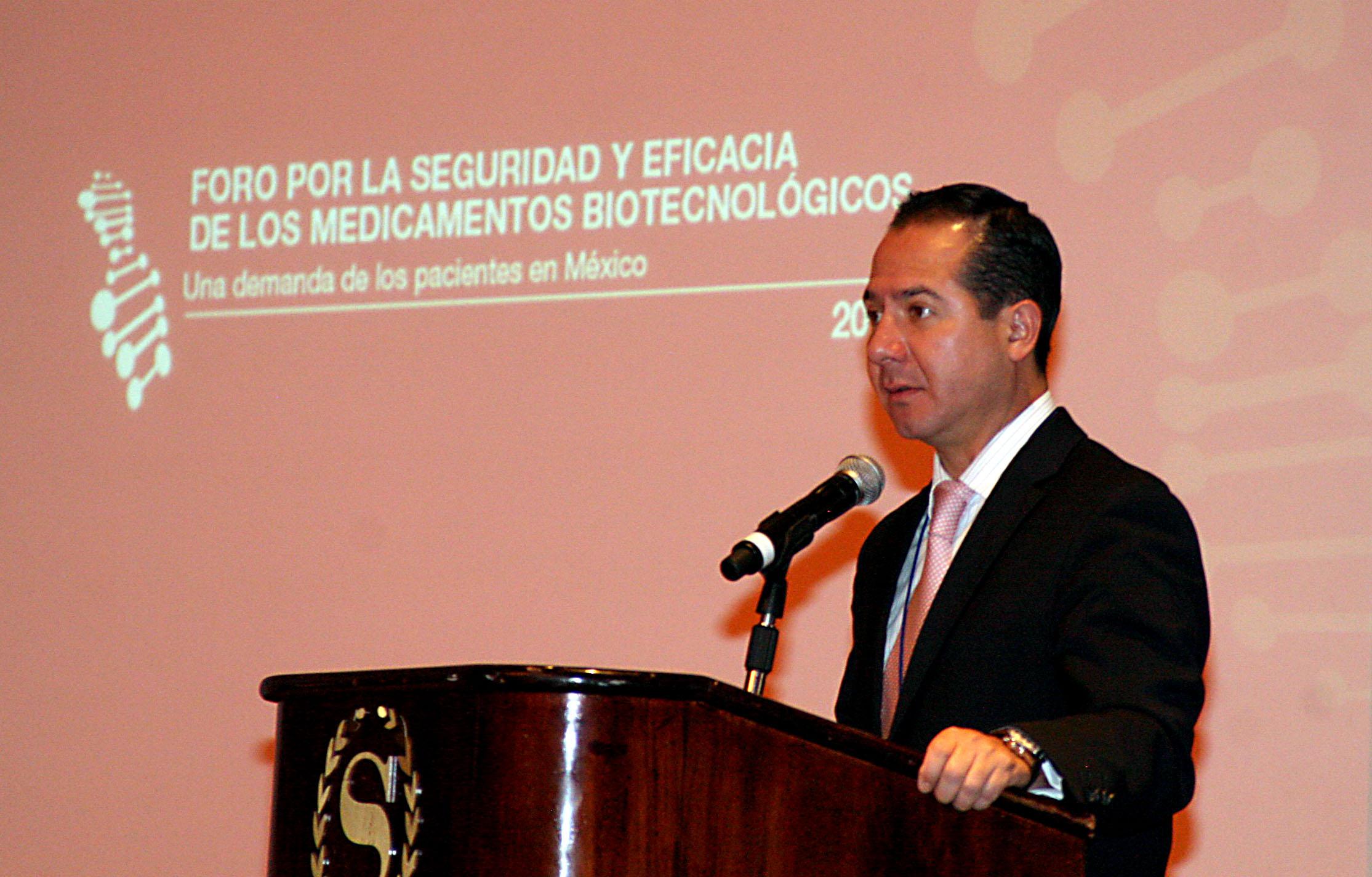 """Foro """"Por la seguridad y eficacia de los medicamentos biotecnológicos, una demanda de los pacientes en México"""""""