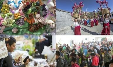 Todo listo para el inicio de la 9ª Feria estatal de la Agrobiodiversidad en Oaxaca