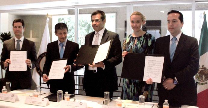 INADEM firma Convenio de colaboración con el Colegio Nacional del Notariado Mexicano