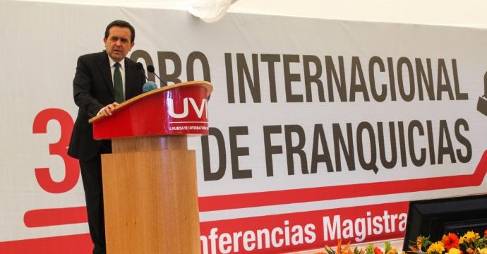 Inauguró el Secretario de Economía Foro Internacional de Franquicias