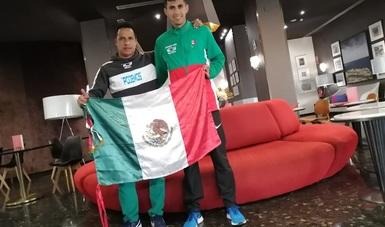 El originario de Aguascalientes registró un tiempo de 2:11.04 y culminó en el lugar 25.