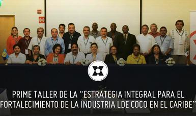 """Primer taller """"Cultivo Resiliente de Cocoteros al Cambio Climático y su rehabilitación"""" del 2 al 6 de diciembre en la Ciudad de Chetumal, Quintana Roo."""
