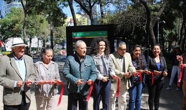 """Inauguran la exposición """"Invirtiendo en el futuro: Conoce a los agentes de cambio"""" organizada por los Fondos de Inversión para el Clima y la CONAFOR."""