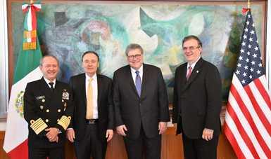 Avanza colaboración México – Estados Unidos en materia de seguridad