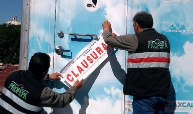 Clausura Profepa de manera parcial la Estación de Monitoreo de Calidad del Aire de Tlaxcala
