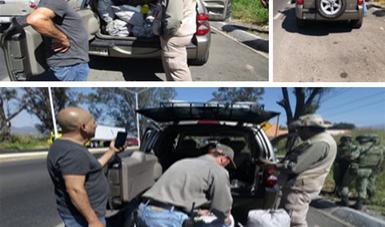 Más de 300 kilos de carbón vegetal aseguró Profepa enAtlatlahucan, Morelos