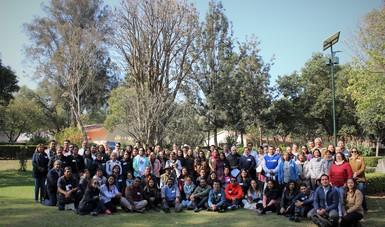 Asistentes al taller de inicio de implementación del proyecto de Agrobiodiversidad mexicana en la Ciudad de México.