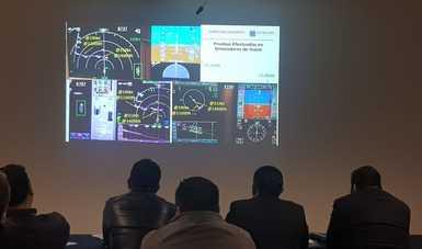 Las pruebas que se hicieron en simuladores, a fin de brindar mayor capacidad, seguridad y eficiencia en el traslado de personas y bienes