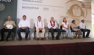 Secretaria de Bienestar finaliza gira de trabajo con el Presidente de la República por los estados de Veracruz, Chiapas y Tabasco.