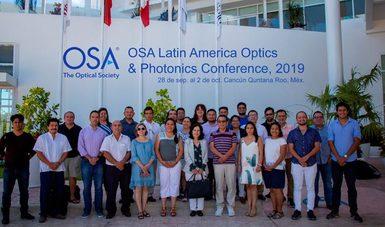 El INEEL presente en el Taller Latinoamericano de Óptica y Fotónica 2019.