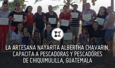 Con este taller se espera que las pescadoras y pescadores guatemaltecos del Canal de Chiquimulilla cuenten con una nueva fuente de empleo y productividad que beneficie en sus ingresos y bienestar.