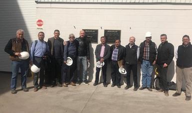 Esta semana en Chihuahua, la Empresa Duraplay de Parral, S.A.P.I. de C.V., obtuvo un Certificado de Cadena de Custodia.