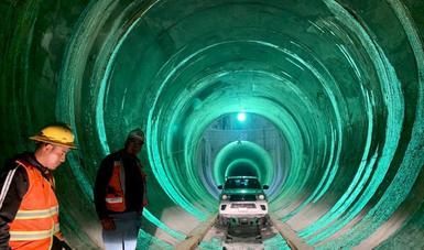 Túnel Emisor Oriente, majestuosa obra que representa continuidad y cambio, afirma presidente López Obrador