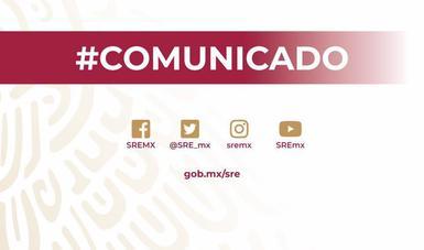 El Gobierno de México toma nota de la comunicación por la que se declara persona non grata a la embajadora María Teresa Mercado