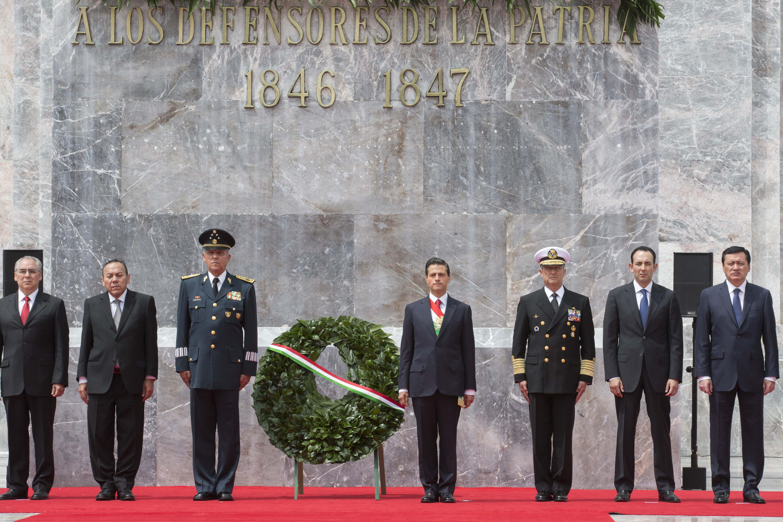 Encabeza el Presidente Peña Nieto la Conmemoración del 168 Aniversario de la Gesta Heroica de los Niños Héroes