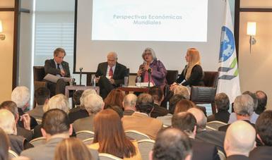"""Se llevó a cabo el evento """"Perspectivas Económicas de la OCDE"""""""