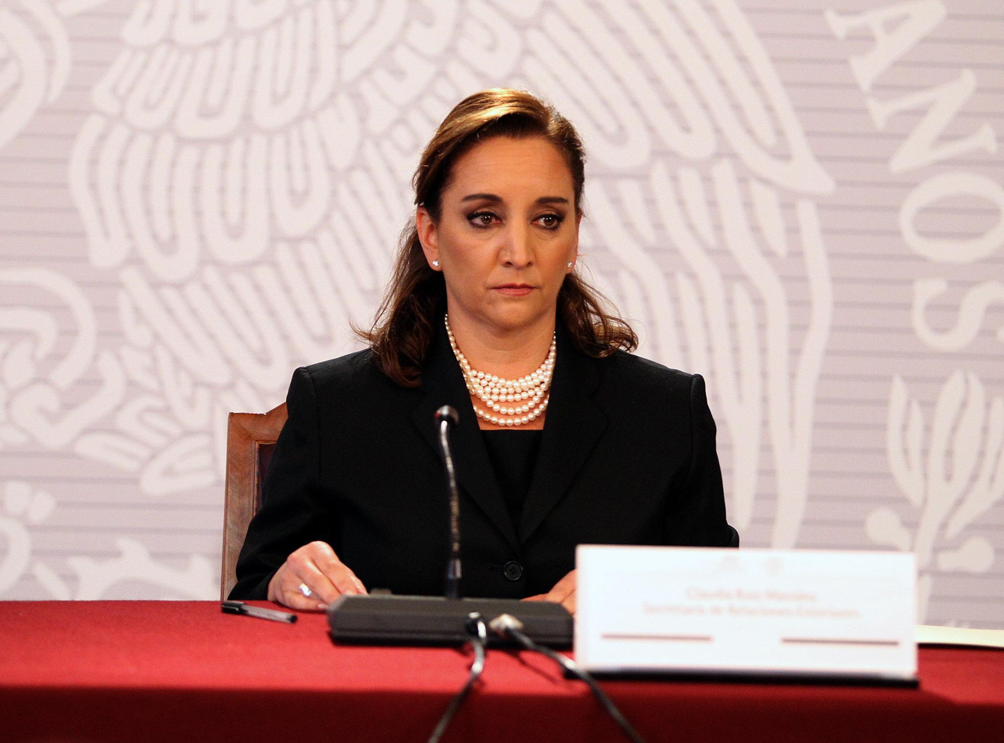 Secretaria de Relaciones Exteriores, Claudia Ruiz Massieu