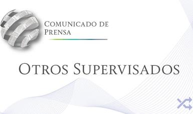 Comunicado de Prensa Grupos Financieros