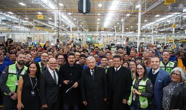 Estamos a favor de la industria maquiladora; es importantísima y la vamos a proteger, afirma presidente