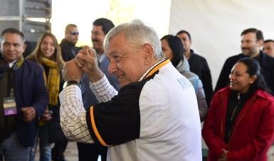 Este año inicia operación de plantas para producir fertilizantes, anuncia presidente en Nuevo Casas Grandes