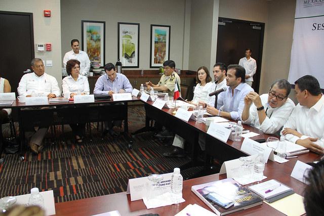 Reunión de trabajo con sector ambiental de BCS.