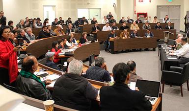 Víctor M. Toledo, dijo que este encuentro es un compromiso del gobierno de México de dar voz a todos los actores.