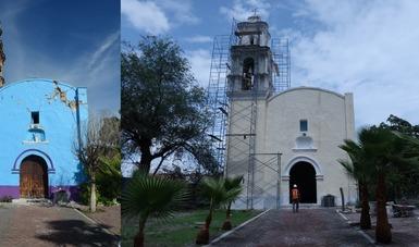 En el último cuatrimestre de 2019, se concluyeron los trabajos en 13 inmuebles: capillas, iglesias y un santuario, siete de ellos localizados en los municipios de Ocuituco y Tepalcingo.