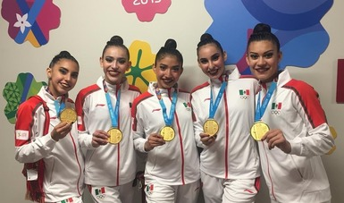 El conjunto nacional buscará la cuota olímpica en el Panamericano de la disciplina, en Estados Unidos. Conade.
