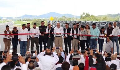 Entrega de la autopista Tuxpan-Tampico, tramo Naranjos-Ozuluama