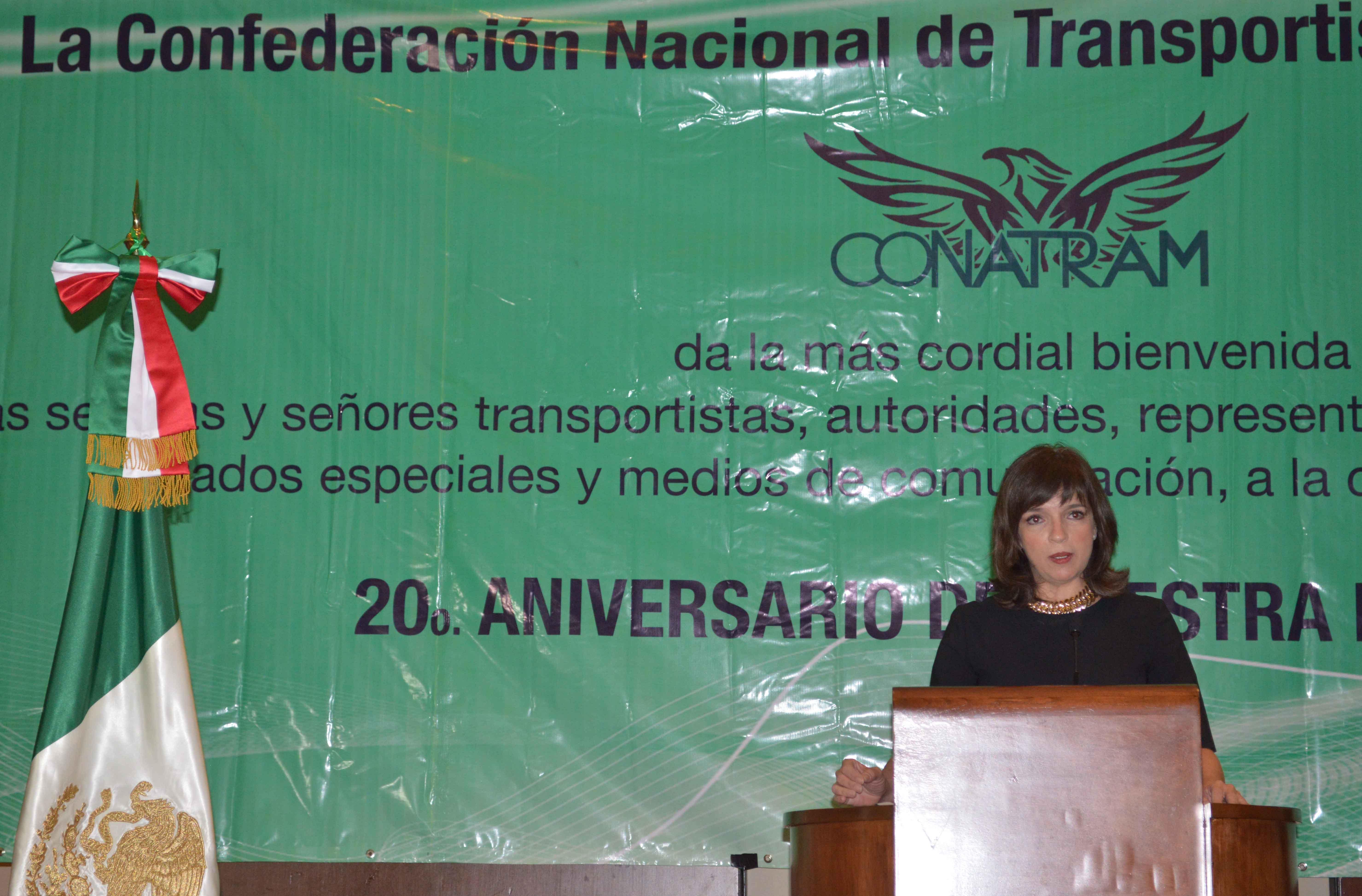 La CONATRAM genera empleos y eficienta el sistema nacional de transporte: YMP