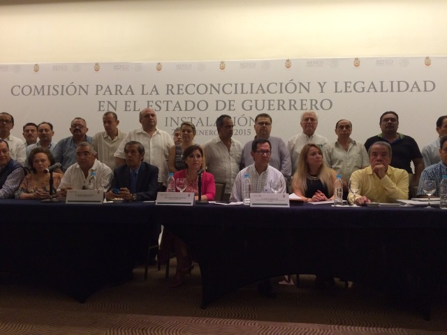Comisión de Reconciliación y Legalidad en Guerrero