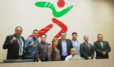 Lo presidieron Mauricio Sulaimán y el subdirector general de la CONADE, Sergio Monroy