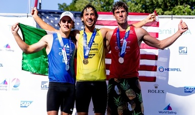 El quintanarroense logró cuota olímpica en tablavela, en la Copa del Mundo de la especialidad, que se realizó en Miami, Estados Unidos