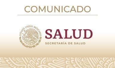 Imagen del logotipo de la Secretaría de Salud.