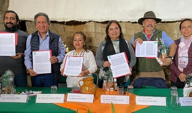 Semarnat, Conanp y Cooperativa Tosepan, en Puebla, suman esfuerzos para fortalecer el cuidado de los ecosistemas y su ri...