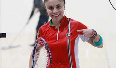 La mexicana logró su título 104 del Tour Profesional.