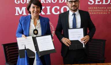 Sedatu y gobierno de Francia colaborarán a favor del desarrollo urbano sostenible
