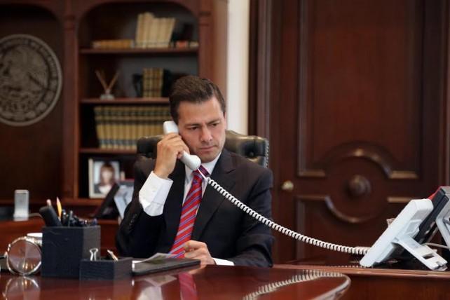 El Presidente egipcio ofreció al Presidente Peña Nieto iniciar la investigación sobre estos hechos que han llenado de luto tanto a México como a Egipto.