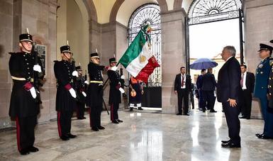 En Querétaro, presidente López Obrador encabeza conmemoración por aniversario 103 de la Constitución